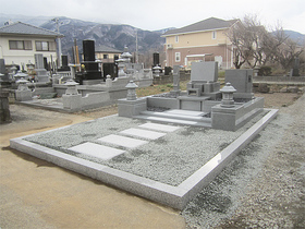 画像:韮崎-墓所完成・その2