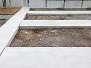 画像:甲斐市-デザイン墓石・施工前
