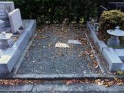 画像:甲府市-墓所新設・施工前