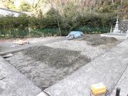 画像:身延-墓所新設-施工前