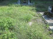 画像:都留市-デザイン墓石・施工前
