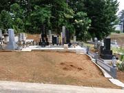 画像:北杜市-墓所リフォーム・施工前