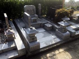 甲府市-墓所新設・完成1