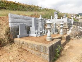 画像:山梨市-墓所リフォーム・完成1