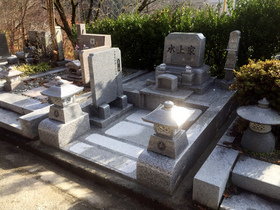 甲府市-墓所新設・完成2