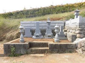 画像:山梨市-墓所リフォーム・完成2