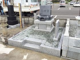 画像:甲斐市-墓所新設・完成2