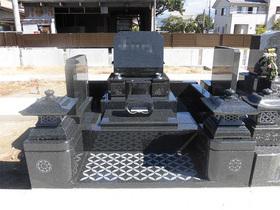 画像:甲斐市-墓所新設・完成 / 全体