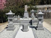 画像:身延-墓所新設-完成・石碑周り