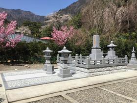 画像:身延-墓所新設-完成・全体