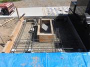 画像:甲斐市-墓所新設・工事中1
