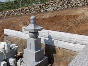 画像:山梨市-墓所リフォーム・工事中2