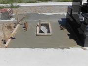 画像:甲斐市-墓所新設・工事中2